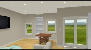 strataline inc walkout basement 3d design in law suite youtube