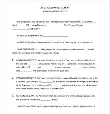 loan agreement sample letter 5 loan agreement templates to write