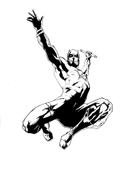 daredevil marvel comics drawings sketch coloring page coloring home