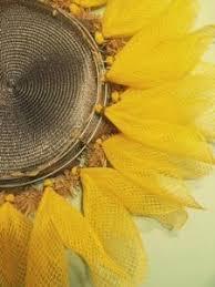 Sunflower Mesh Wreath Diy Sunny Sunflower Wreath Do More For Less