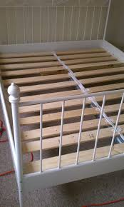 Bed Slat Frame Cheaply Build Your Own Bed Slats For Ikea Bed Bed Is 54