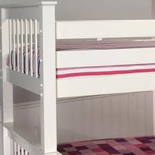 Pavo Bunk Bed Limelight Pavo Wooden Bunk Bed In White