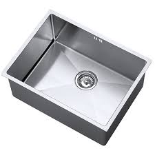 1 bowl kitchen sink the 1810 company zenuno15 kitchen sink zu 55 u15 d s 078 1 bowl