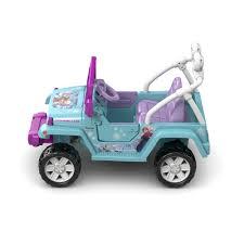 jeep purple power wheels disney frozen jeep wrangler 12 volt battery powered