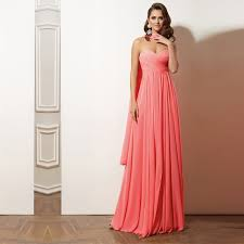 plus size coral dress for wedding coral colored bridesmaid dresses strapless floor length