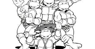 teenage mutant ninja turtles coloring pages gekimoe u2022 106275