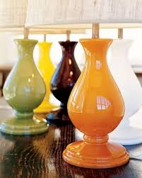 Colored Glass Table Lamps Table Lamp Trends Fun Colors And Shapes U2013 Lighting Style Blog