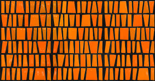 warm orange inspired by africa warm glossy tiles