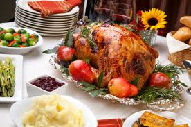 an alternative thanksgiving menu in balance institute