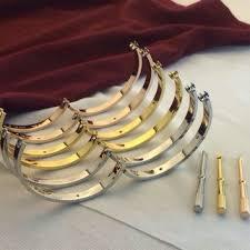 cuff bracelet gold plated images Shop screw cuff bracelet on wanelo jpg