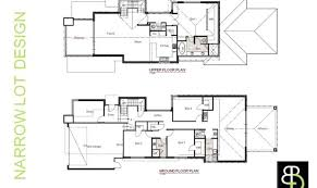 narrow lot houses 15 surprisingly luxury home plans for narrow lots building plans