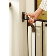 Child Stair Gates North State Swing Door Stairway Baby Gate 28 U0027 U0027 48 U0027 U0027 Walmart Com