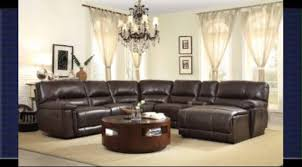 leather reclining sectional sofa with chaise youtube