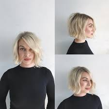Seeking Ver This Soft Blend Bob With Side Part And Undone Wavy Texture