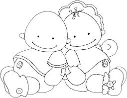 baby coloring pages crafts worksheets preschool toddler