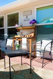 diy outdoor bar cart u2014 house of five