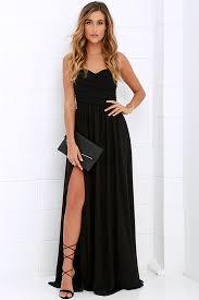 black gown strapless dress maxi dress 82 00