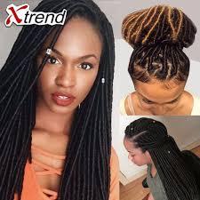 Single Braid Hair Extensions by Cheap 14 U0027 U0027 Faux Locs Crochet Hair 24roots Faux Loc Braids Hair