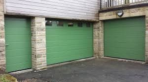 hormann lpu40 insulated 42mm sectional garage doors in reseda