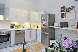 Modren Apartment Kitchen Decorating Ideas Design Decobizz On - Small apartment kitchen design ideas