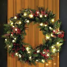 large lighted wreath christms wreth tht nywhere large