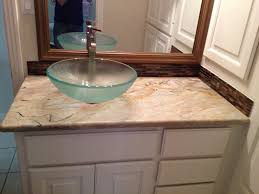 bathroom glass bathroom sinks countertops marvelous on and crafts