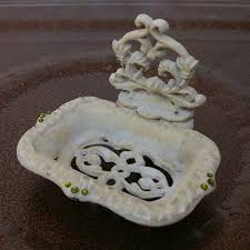Shabby Chic Soap Dish by Cast Iron Vintage Shabby Chic Soap Dish Or Business Card Holder
