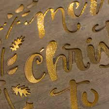 12 light up sign merry 17028 craftoutlet