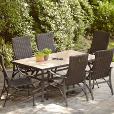 distinctive hampton bay posada patio chair in cushion regarding
