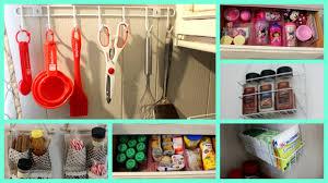 Kitchen Organizers Ideas Easy Dollar Store Kitchen Organization Ideas Youtube