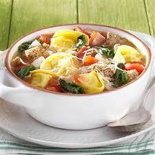 italian rustic rustic italian tortellini soup recipe taste of home