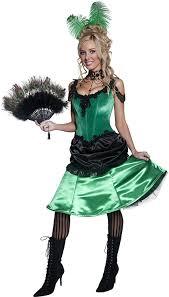 saloon womens halloween costume amazon com smiffy u0027s women u0027s authentic saloon dress clothing