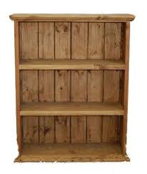 Mexican Pine Bookcase Rustic Mbwfurniture