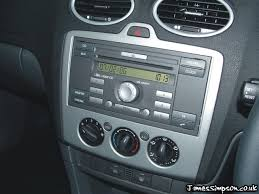 2007 ford focus radio ford focus mk2 2005 2008 stereo removal st