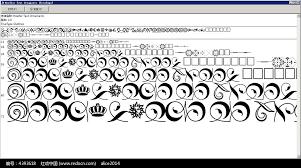 hoefler text ornaments英文系统字体库ttf素材免费下载 编号4393618