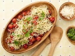 ina garten tomato capellini with tomatoes and basil recipe ina garten food network