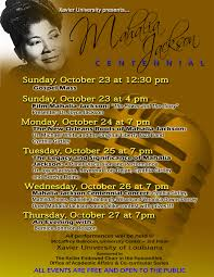 michael jackson funeral program centennial of mahalia jackson s birth sparks concerts panels in