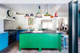 light blue kitchen cabinets uk two tone kitchens home the sunday times