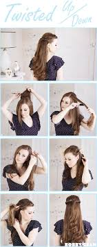 front poof hairstyles step by step pictorial tutorials of different style puff hairstyle