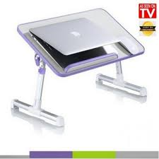 Laptop Bed Desk Mega Shop Ergonomic Laptop Bed Desk With Laptop Cooler