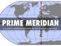 Prime Meridian Map Map Skills Vocab By Tyler Alldredge