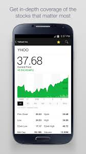finance app for android yahoo finance app redesigned for android android community