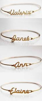customized name bracelets custom name bracelets for bridesmaids gifts how this idea is