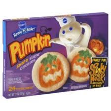 pillsbury ready to bake pumpkin shape sugar cookies shop cookie