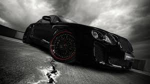 black cars wallpapers black car hd wallpaper 1600x900 16280