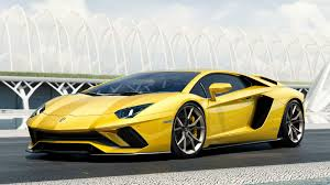 yellow and black lamborghini the 2017 lamborghini aventador s has 740 hp and is definitely the