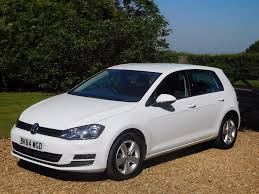 used volkswagen golf hatchback 1 6 tdi bluemotion tech match