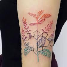 watercolor tattoos minimalist design trend