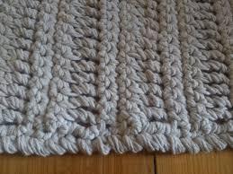 Crochet Bathroom Rug by Knit Rug Pattern Home Design Ideas