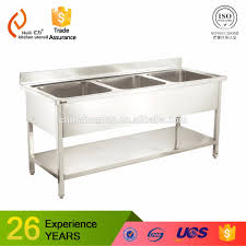 Restaurant Used Commercial Stainless Steel Kitchen Sink Buy Used - Commercial kitchen sinks stainless steel